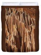 red Tsingy Madagascar 5 Duvet Cover