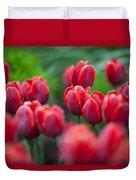 red tulips II Duvet Cover