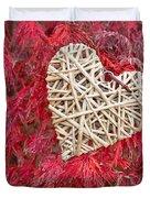 Red Valentine Duvet Cover