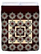 Red Vine Duvet Cover