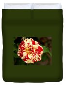 Red Yellow Rose Duvet Cover