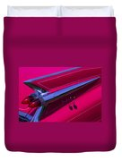 Red1959 Cadillac Duvet Cover