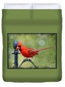 Redbird Alert Duvet Cover
