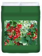 Redcurrant Berries Duvet Cover