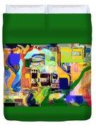 Redemption Prayer 3f Duvet Cover by David Baruch Wolk
