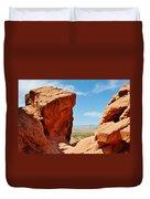 Redstone Canyon Duvet Cover