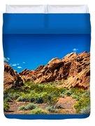Redstone Picnic Area Duvet Cover
