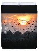 Redwing Sunset Duvet Cover