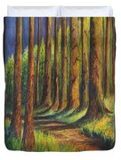 Jedediah Smith Redwoods State Park Duvet Cover
