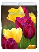 Redyellowtulips6728 Duvet Cover