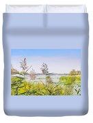 Reed Flowers Duvet Cover
