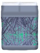 Reed Water Reflection Light Fantasy Duvet Cover