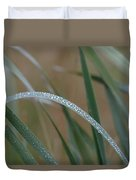Reeds And Rain Duvet Cover