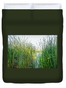 Reeds And River Duvet Cover
