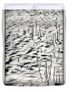 Reeds In Ripples Duvet Cover