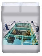 Reflected Cathedral Duvet Cover