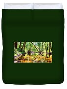 Reflected Forests Duvet Cover