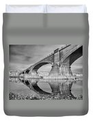 Reflecting Fernbridge Duvet Cover