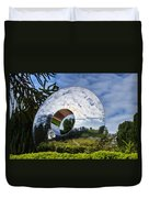 Reflecting The Countryside Duvet Cover