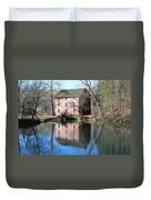 Reflection At The Mill Duvet Cover