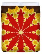 Reflection Of Fire Duvet Cover