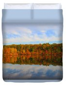 Reflection Of The Fall Duvet Cover
