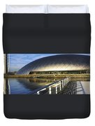 Reflection Of The Glasgow Science Duvet Cover
