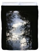 Reflection On Sweet Water Strand Duvet Cover