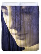 Reflection / The Philosophy Of Mind Duvet Cover