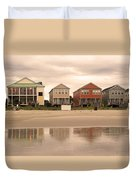 Reflections At Sunrise Duvet Cover