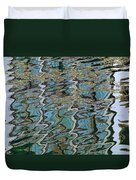 Reflections From The Ponte Vecchio Duvet Cover