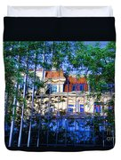 Reflections In The City Duvet Cover