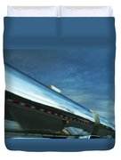 Reflections In The Passing Lane Duvet Cover