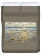 Reflections In The Sand Duvet Cover