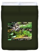 Reflections In The Stream Duvet Cover