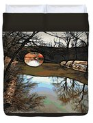 Reflections In The Water Duvet Cover
