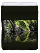 Reflections Marimbus River Brazil 2 Duvet Cover