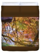 Reflections Of A Colorful Fall 002 Duvet Cover