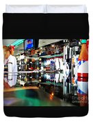 Reflections Of A Diner 3 Duvet Cover