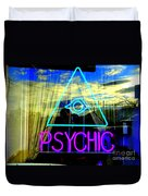 Reflections Of A Psychic Duvet Cover