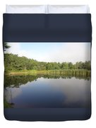 Reflections Of A Still Pond Duvet Cover