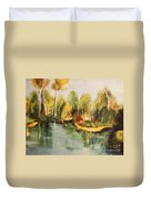 Reflections Of Age Thirteen Duvet Cover