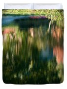 Reflections Of Colours  Duvet Cover