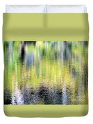 Reflections Of Fall 3 Duvet Cover