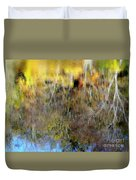 Reflections Of Fall1 Duvet Cover