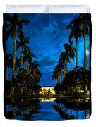 Reflections Of Grandeur Duvet Cover