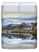 Reflections Of Iceland Duvet Cover