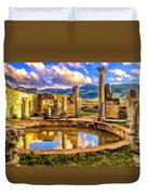 Reflections Of Past Glory Duvet Cover