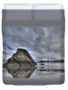 Reflections Of Tenby 2 Duvet Cover