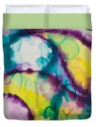 Reflections Of The Universe Series No 1390 Duvet Cover